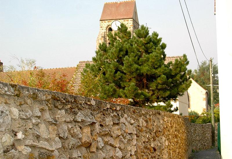cheptainville zac sentier de l'église